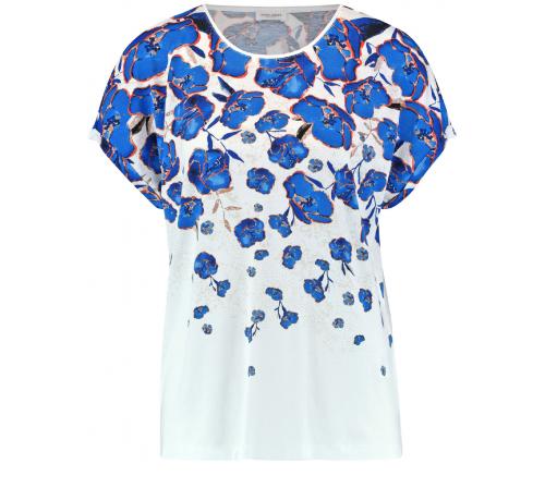 Bluzka w kobaltowe kwiaty Gerry Weber