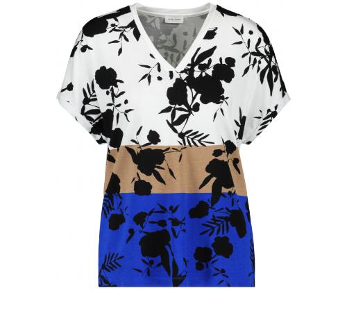 Bluzka Gerry Weber w kontrastowe kwiaty
