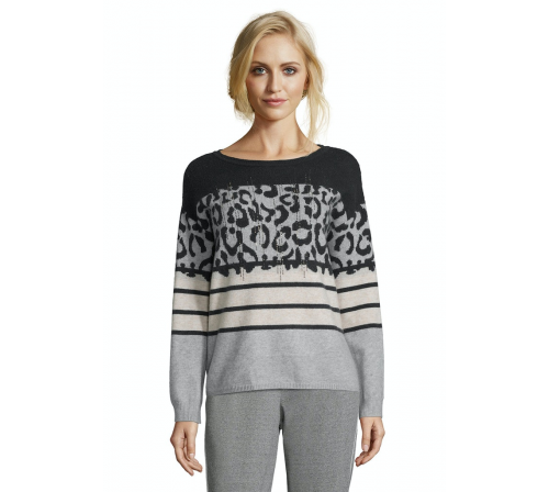 Sweter w centki Betty Barclay